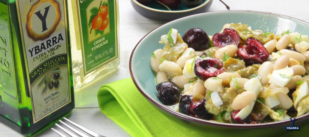 Receta de ensalada de alubias y jud as verdes ybarra con - Ensalada de alubias ...