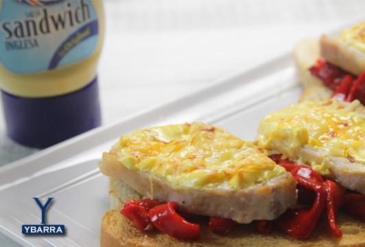 Receta lomo asado gratinado con salsa inglesa ybarra ybarra en tu cocina - Judias verdes ybarra ...