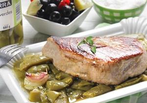 Receta 10 ideas para una cena sencilla y deliciosa ybarra en tu cocina - Judias verdes ybarra ...