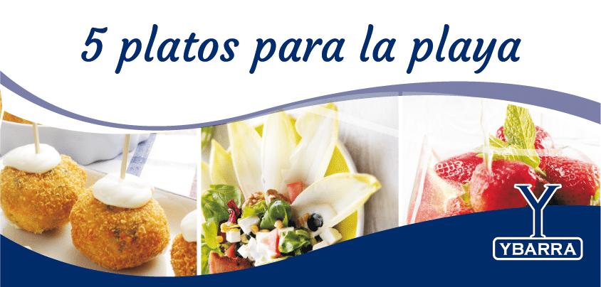 Receta ranking 5 platos para la playa ybarra en tu cocina - Platos para picnic ...