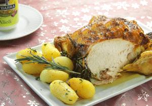 Pollo-asado-al-Alioli
