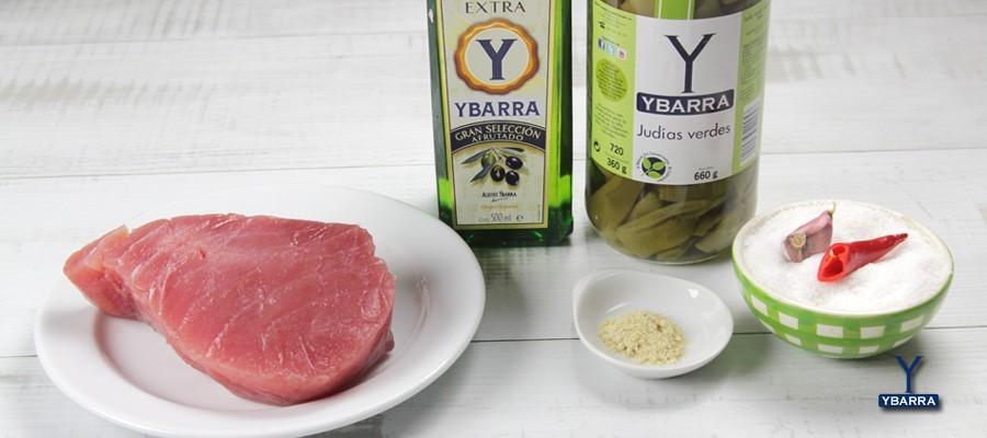 Atun con jud as verdes ybarra ybarra en tu cocina - Judias verdes ybarra ...