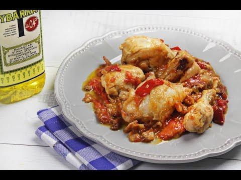 Pollo al Chilindrón en Ybarra