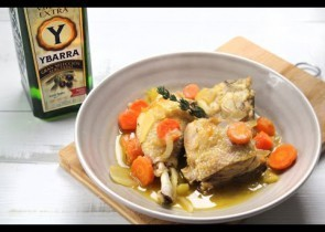 Recetas de carnes y aves platos de cocina con carne - Judias verdes ybarra ...