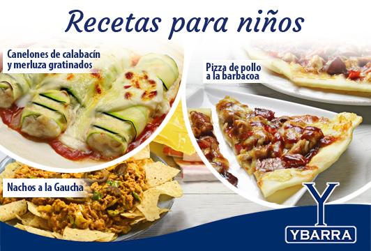 Receta 5 Recetas Fáciles Para Cocinar Con Niños Ybarra