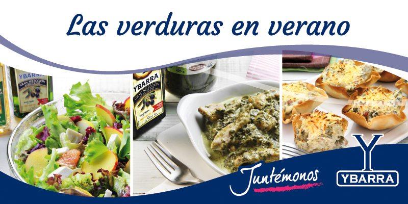 Receta mejora tu verano con recetas de verduras ybarra en tu cocina - Judias verdes ybarra ...