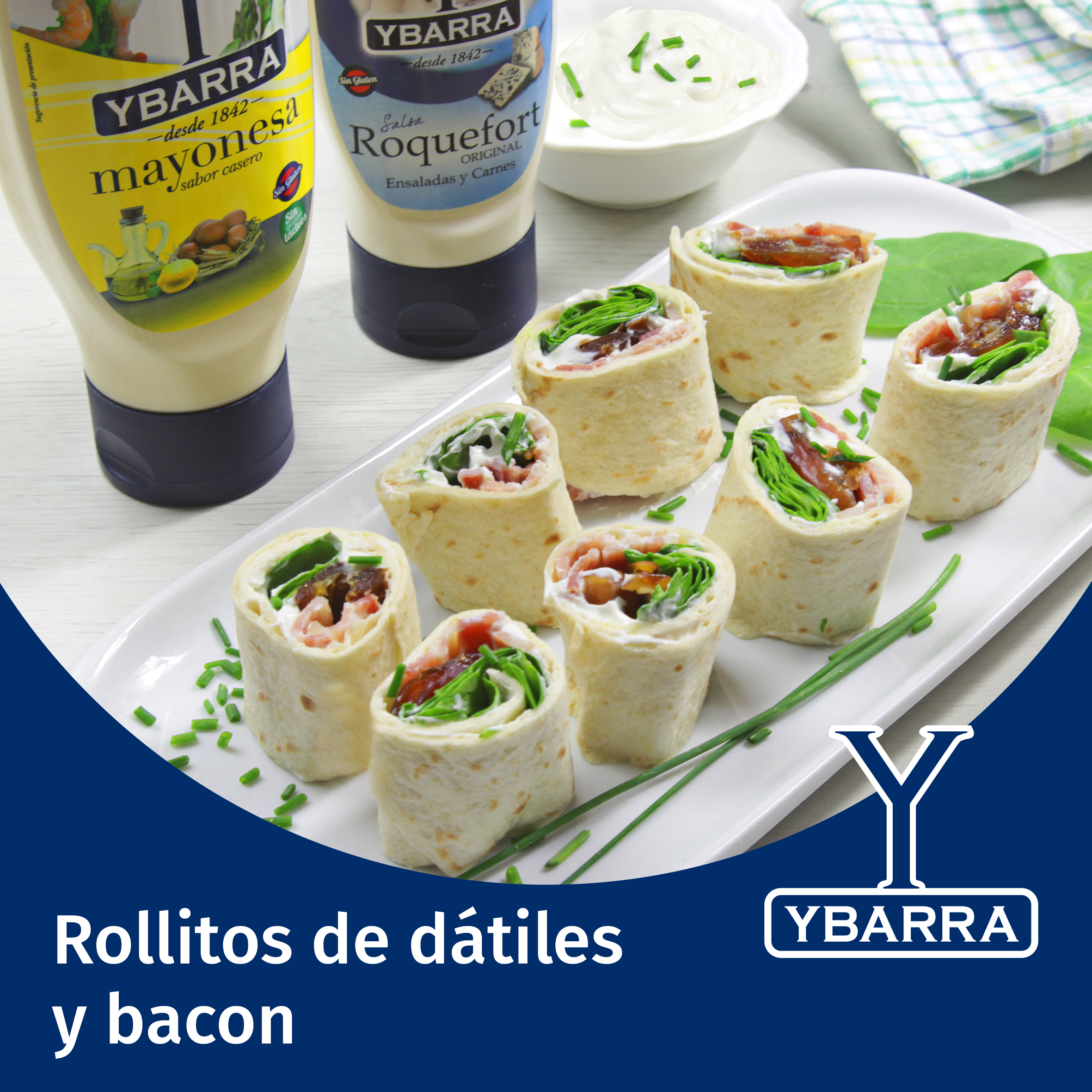 Rollitos de dátiles y bacon
