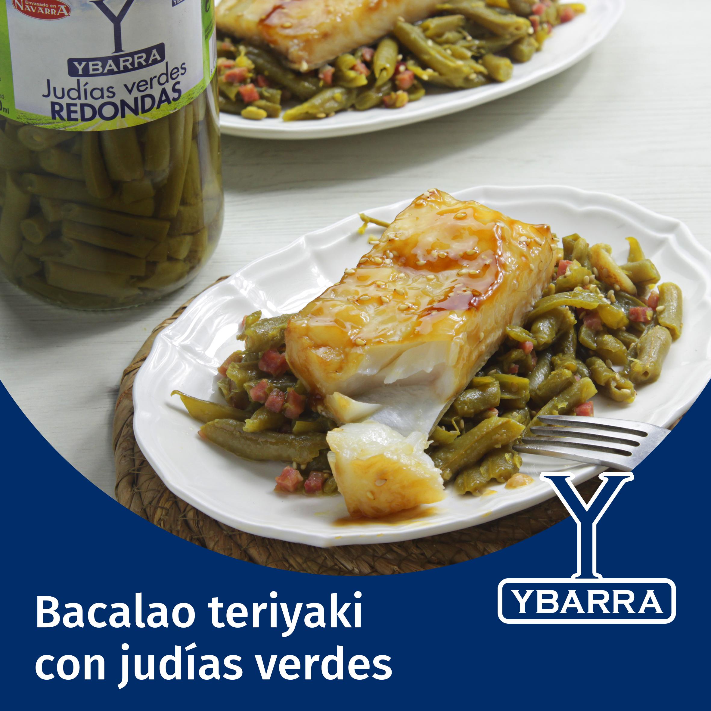 Receta bacalao al teriyaki con jud as verdes ybarra en tu cocina - Judias verdes ybarra ...