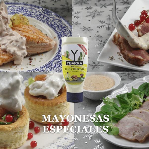 Mayonesas Ybarra especiales